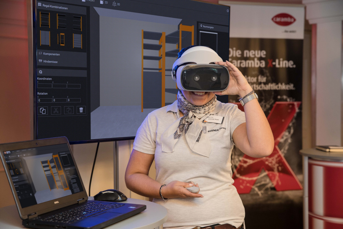 Künstliche Intelligenz, Internet der Dinge, Virtual Reality: Berner Group treibt digitale Transformation im Handwerk voran